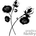 87-flowers-bw