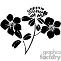 50-flowers-bw