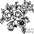 73-flowers-bw