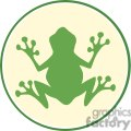 Cartoon-Frog-Green-Logo-Mascot