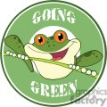cartoon-happy-red-eyed-blue-tree-frog-going-green  gif, png, jpg, eps, svg, pdf