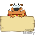 cartoon dog holding a sign gif, png, jpg, eps, svg, pdf