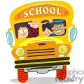 children on the school bus