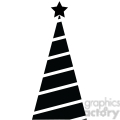 black christmas tree design gif, png, jpg, eps, svg, pdf