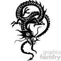 chinese dragons 028 vector clip art image