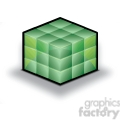 database-cube-green