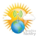 cell tower earth gif, png, jpg, eps, svg, pdf