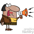 102568-cartoon-clipart-african-american-business-woman-yelling-through-a-megaphone