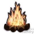 vector campfire
