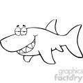 black-white-greatwhite-shark