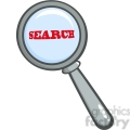 Royalty-Free-RF-Copyright-Safe-Magnifying-Glass-With-Word-Search