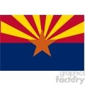 vector state flag of arizona