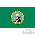 vector state flag of washington 1889 gif, png, jpg, eps, svg, pdf