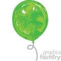 green balloon  gif, png, jpg, eps, svg, pdf