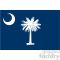 vector state Flag of South Carolina