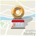 dougnut shop on map