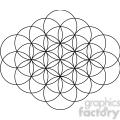 flower of life symbol 001