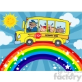5051-clipart-illustration-of-school-bus-with-happy-children-around-rainbow  gif, png, jpg, eps, svg, pdf