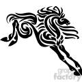 stylish horse design
