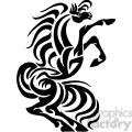 stallion horse art