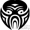 tribal masks vinyl ready art 034