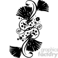 chinese swirl floral design 008  gif, png, jpg, eps, svg, pdf