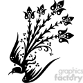 chinese swirl floral design 078  gif, png, jpg, eps, svg, pdf