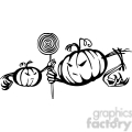 Halloween clipart illustrations 035