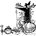 Halloween clipart illustrations 018