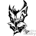 alley cat tattoo design