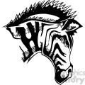 amazing zebra clipart