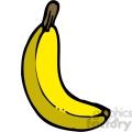 yellow banana 1  gif, png, jpg, eps, svg, pdf