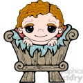 baby jesus in a crib clipart  gif, png, jpg, eps, svg, pdf