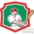 baseball batter side look shield  gif, png, jpg, eps, svg, pdf