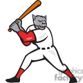 baseball hitter bat panther side  gif, png, jpg, eps, svg, pdf