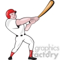 baseball player batting point up front