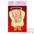 merry christmas baby jesus cartoon