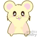 cartoon hamster illustration clip art image