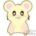 cartoon hamster illustration clip art image