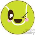 Tennis Ball cartoon character illustration