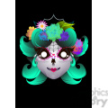 day of the dead 6 cartoon character illustration  gif, png, jpg, eps, svg, pdf