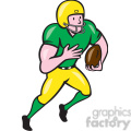 american football receiver run side ol iso  gif, png, jpg, eps, svg, pdf