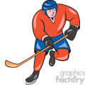 ice hockey player action OL 003