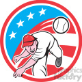baseball pitcher throwing ball usa flag circ  gif, png, jpg, eps, svg, pdf