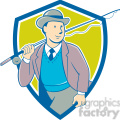 tourist fishing rod SHIELD