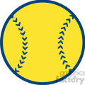 yellow baseball ball  gif, png, jpg, eps, svg, pdf