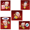 woody the cartoon pencil character clip art image set