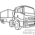 military armored supply vehicle outline