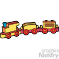 toy wooden train illustration graphic