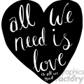 all we need is love is all need